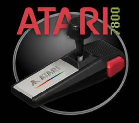 Atari 7800 (17-09-18) - by Anarkhya with The Gimp