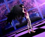 Barck Angel mmd model by me DL (open)