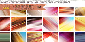 Icon Textures Set 05 - Color Motion Effect