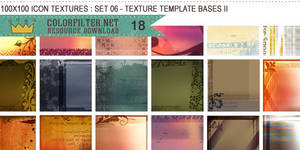 Icon Textures Set 06 - Texture Template Bases II