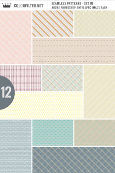 Seamless Patterns: Set 01 - Random Assorted