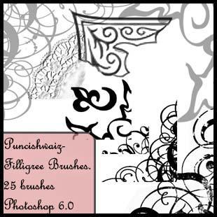 Filligree Brushes by puncishwaiz
