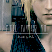 Final Fantasy VII Icon Pack by LightningFarron3173