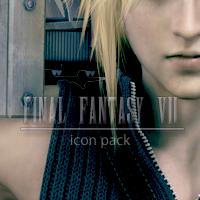 Final Fantasy VII Icon Pack by LightningFarron3173