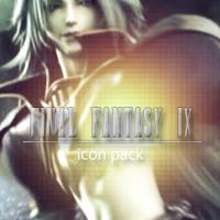 Final Fantasy IX Icon Pack by LightningFarron3173