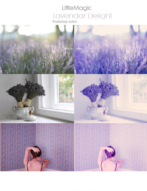 Lavendar Delight Action by littl3magic