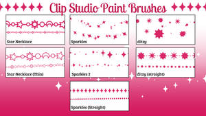 Clip Studio Paint Decorative Brushes