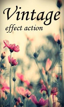 Vintage Effect Action