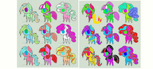 bunch of mlp adopts!