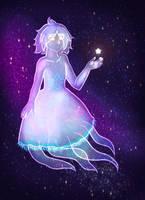 Moon Jellyfish (animated version) by Karren-san