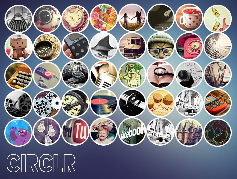 Circlr: Tumblr made Icons by soficanorio
