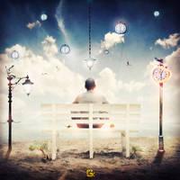 A Time traveller - PSD File (G.K Design) by GKDes1gn