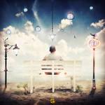 A Time traveller - PSD File (G.K Design)