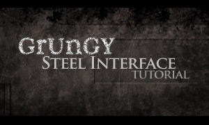 Grungy Interface Tutorial by ya3