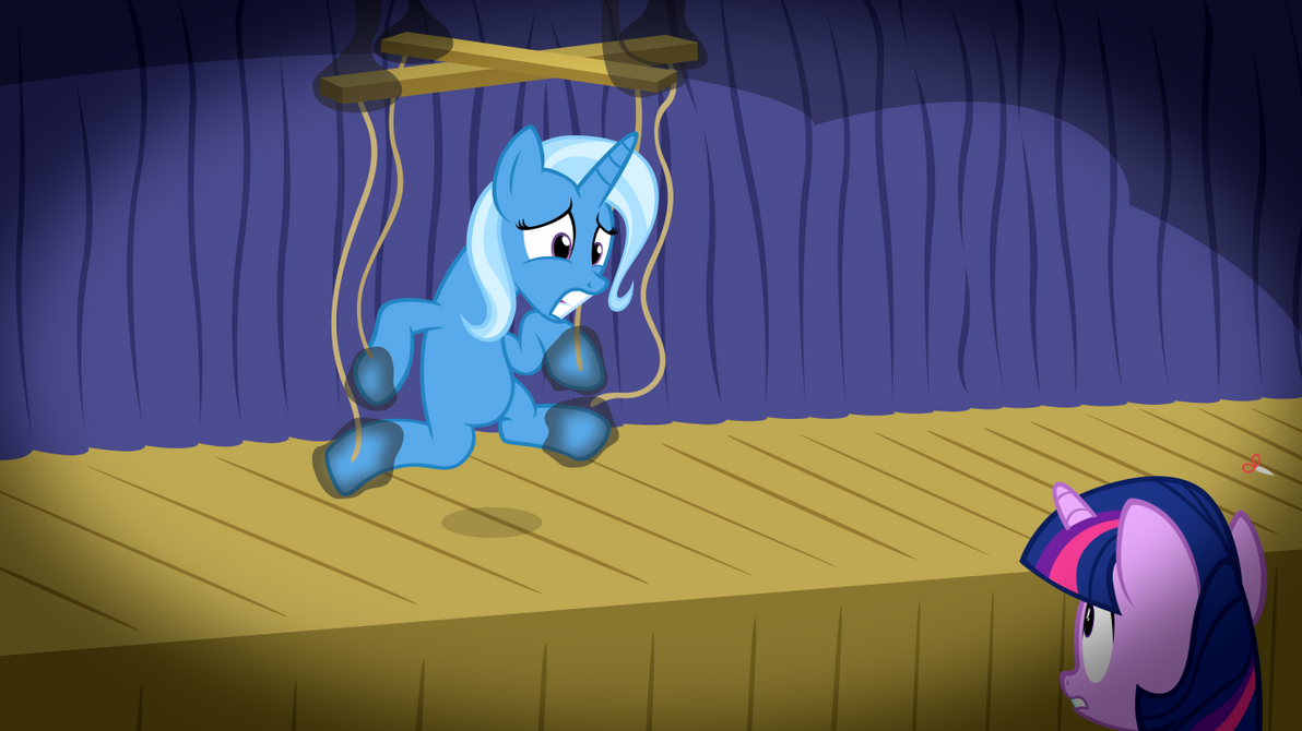 My Little Pony Bon Bon And Trixie S Puppet Show By