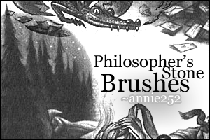 Philosopher's Stone Brushes by annie252