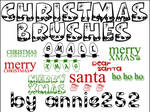 Christmas Brushes01