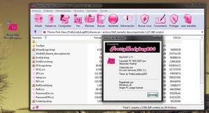 Theme Pink Glass by PrettyLadybug093