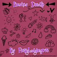 Brushes Doodle by PrettyLadybug093
