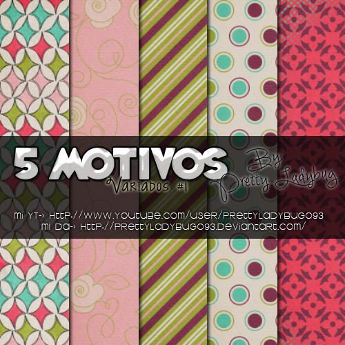 Motivos Variados #1 by PrettyLadybug093