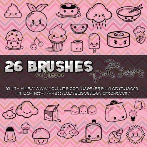 Brushes Cute by PrettyLadybug093