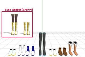 MMD Default Models Shoes by Togekisspika35