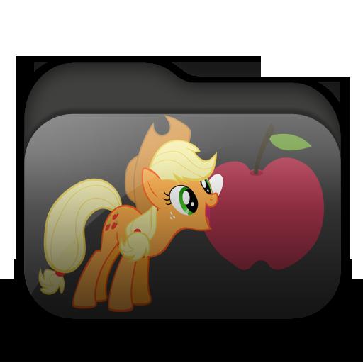 Applejack Folder Icon by Togekisspika35