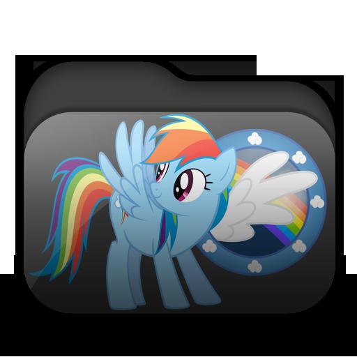 Rainbow Dash Folder by Togekisspika35