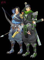 MMD - Young Shimada Brothers Download by Togekisspika35