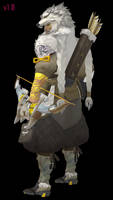 MMD - Hanzo (Wolf) Download by Togekisspika35