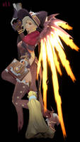 MMD - Mercy (Witch) Download by Togekisspika35