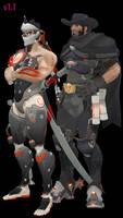 MMD - Blackwatch Genji and McCree Download by Togekisspika35