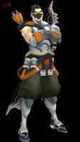 MMD - Hanzo (Cyberninja) Download by Togekisspika35