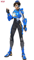 MMD - Tracer (Cadet Oxton) Download