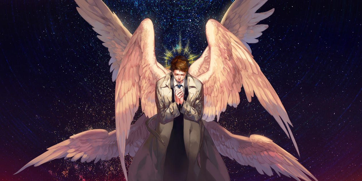 Castiel x Reader || Another Set of Wings by gracilisx on DeviantArt