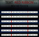 TEXT RED RIBBON V.2