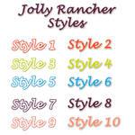 Jolly Rancher Photoshop Styles