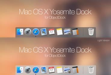 MacOSX Yosemite Dock