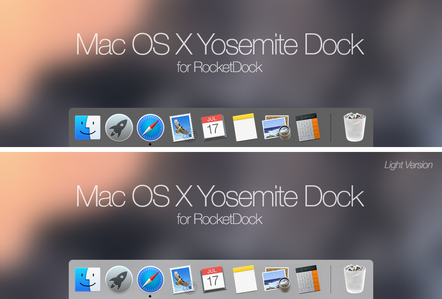 MacOSX Yosemite Dock by rabra on DeviantArt