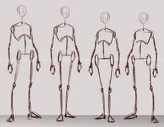 [F2U] Character Concept Bases [Male/Female]