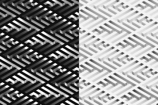 Overlays - Escher inspired