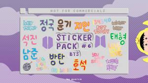 Sticker Pack #6 by moolce