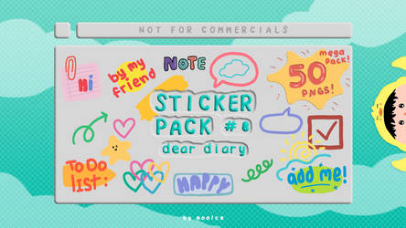 Sticker Pack #8 by moolce