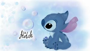 Curiousity About Bubbles, Stitch
