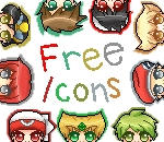 FREE Icons - Pokemon Special Boy Collection by Aquarika