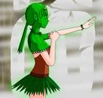 Gem Girl Animation