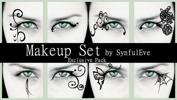 Makeup Brush Set by SynfulEve