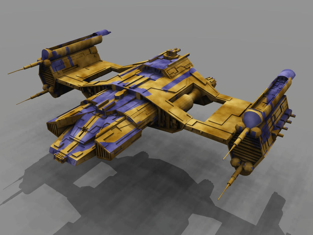 Fading Suns League Frigate by dmaland