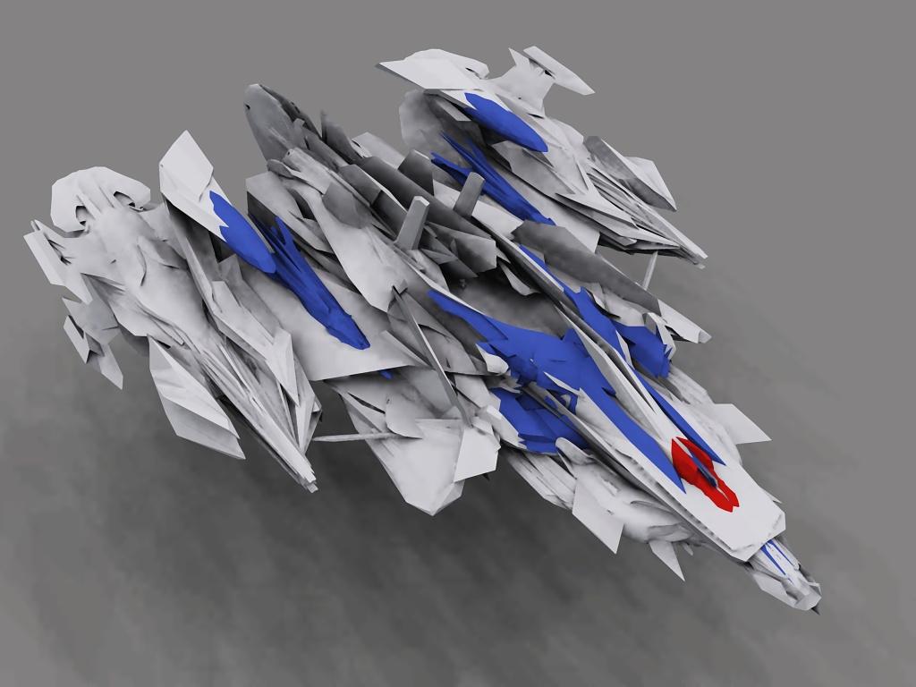 Eagle Blade Gamma OBJ by dmaland