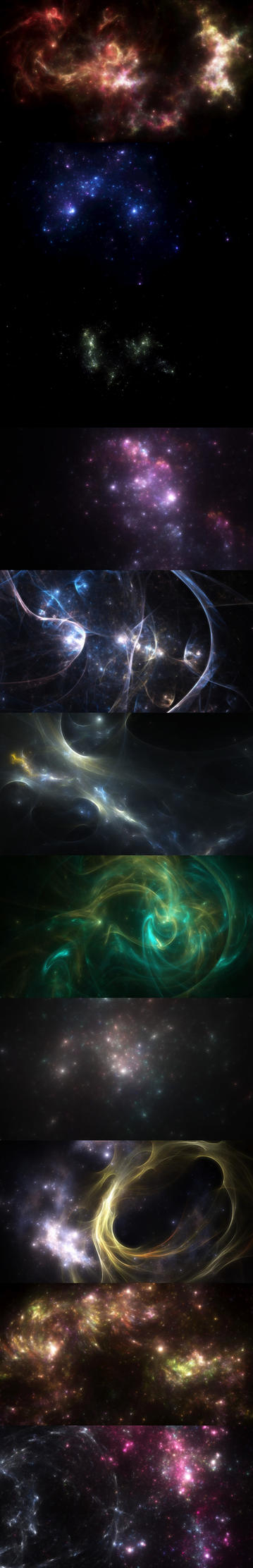 More Space Backdrops by dmaland